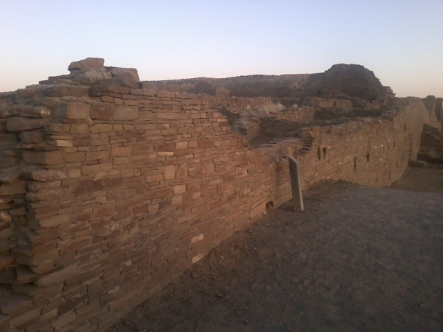 Chaco Walls in Twilight