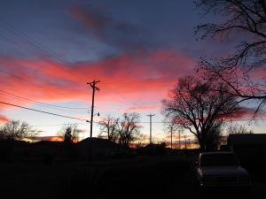 21 December Sunset